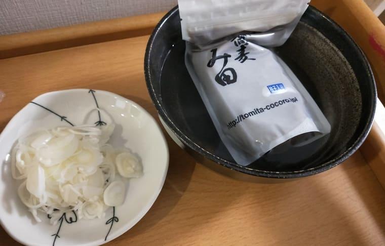 宅麺(とみ田のスープを湯煎)