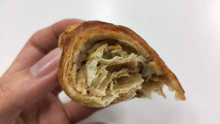 カフェオレデニッシュ(断面)