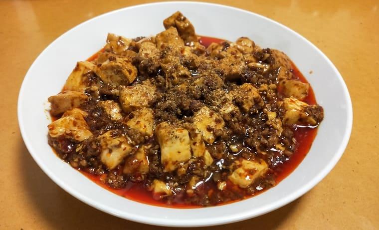 陳麻婆豆腐完成品