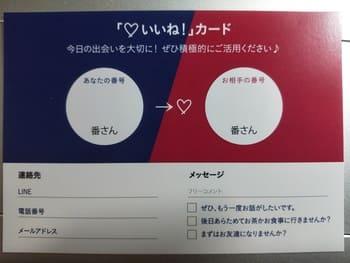 印象カード(男→女)