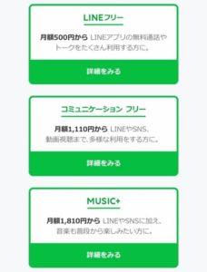 LINEモバイル(料金プラン)
