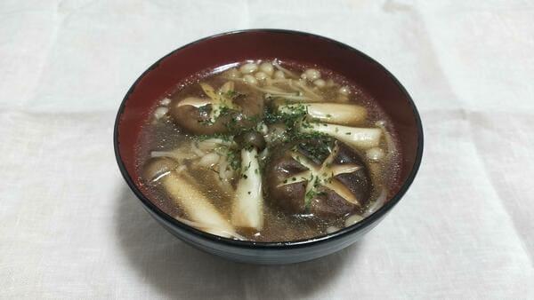 きのこスープ(完成品)