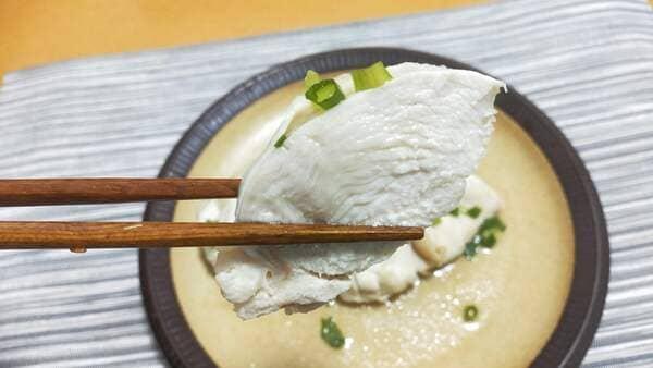 サラダチキン(断面)